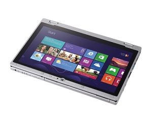 Tablette hybride ultrabook professionnelle CF-AX3 Panasonic
